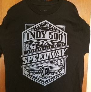 INDIANAPOLIS 500 SPEEDWAY INDY 500 T SHIRT Large